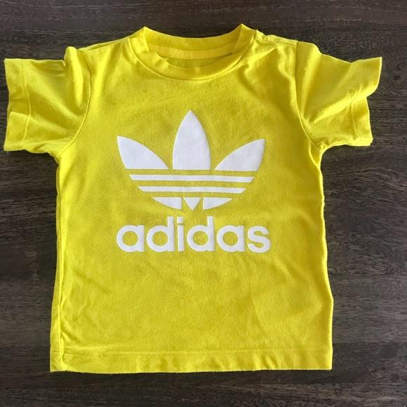 d94285300c84f Adidas Original Trefoil Tee Infant Yellow